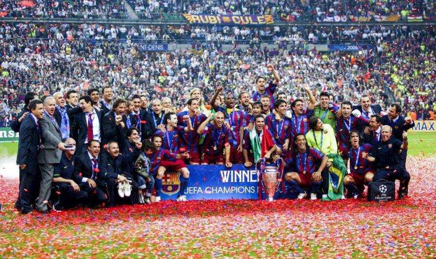 Финал Лиги чемпионов: Барселона