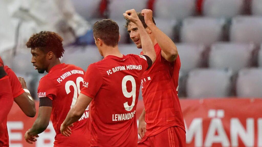 «Бавария» 5:2 против «Айнтрахта» на «Альянц Арене»