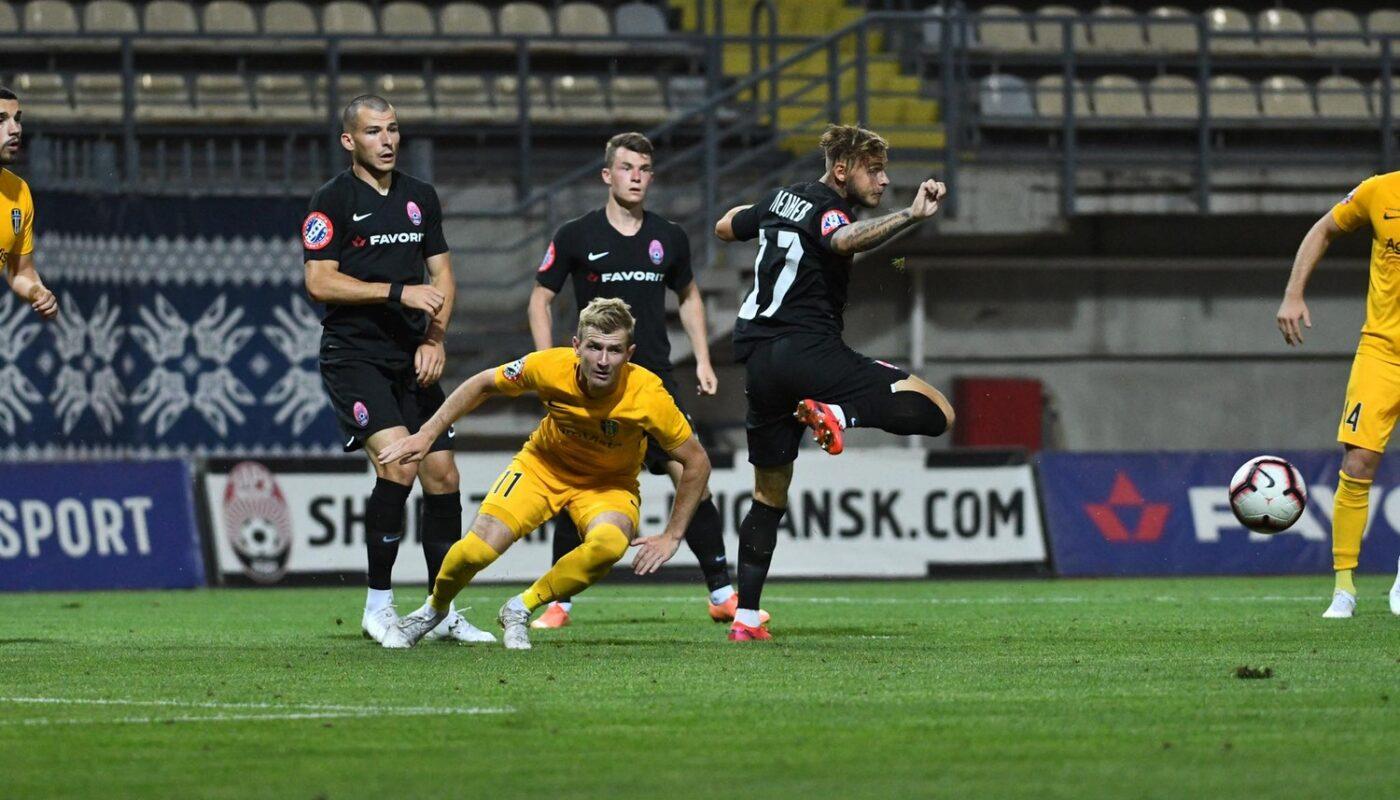 В матче 29 тура Чемпіоната Favbet Лиги сезона 2019/2020 «Александрия» сыграла вничьюс луганским фк «Заря».