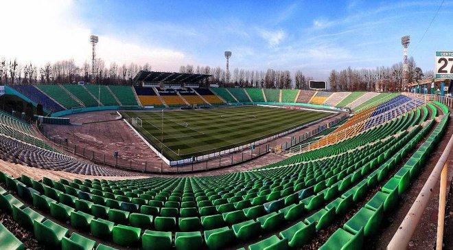 Стадионы Украины