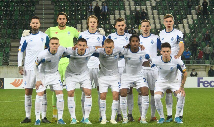 «Динамо» огласило заявку на игру против «Ювентуса»