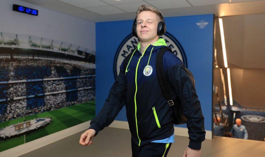 Зинченко рассказал о том, что он видит в раздевалке «Манчестер Сити»