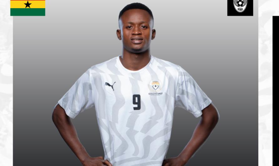 Официально: «Заря» заключила контракт с 18-летним нападающим из Ганы