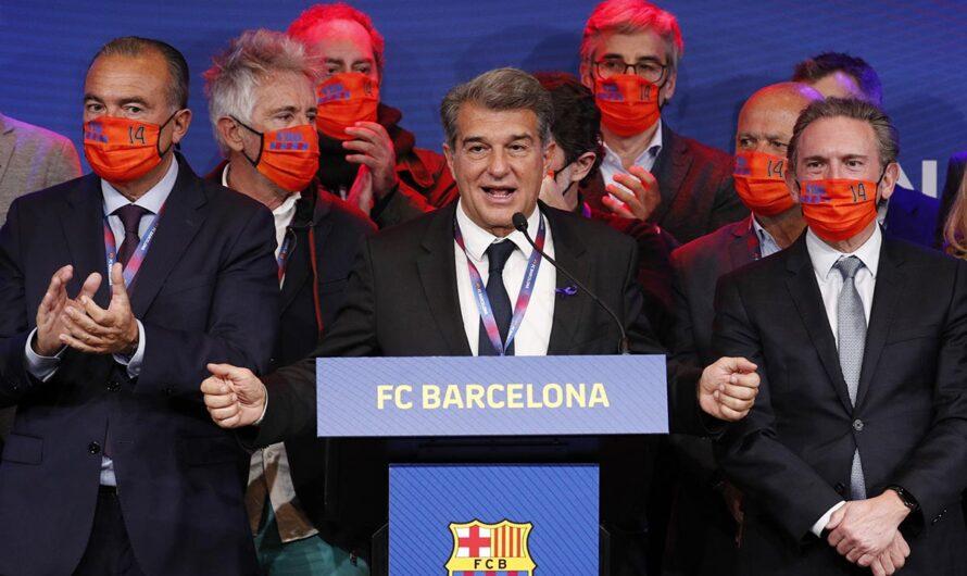 Жоан Лапорта настаивает на жизнеспособности проекта Европейской Суперлиги