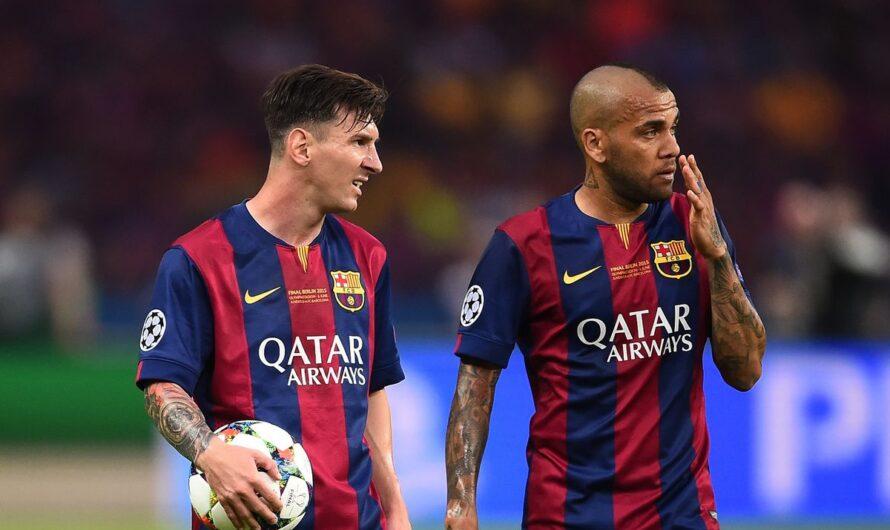 Дани Алвес прокомментировал расставание Лео Месси и «Барселоны»
